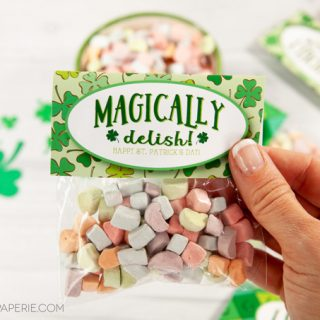 Lucky Charms St. Patrick's Day Favors for the Classroom