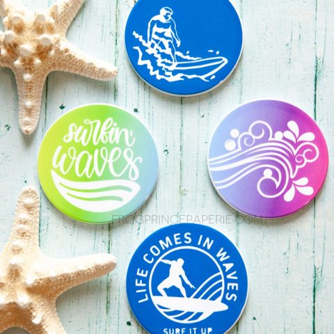 How to use Cricut Infusible Ink on Coasters