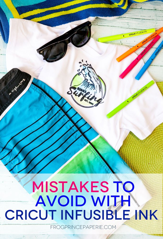 Mistakes to Avoid Using Cricut Infusible Ink Pens and Markers on T-shirts