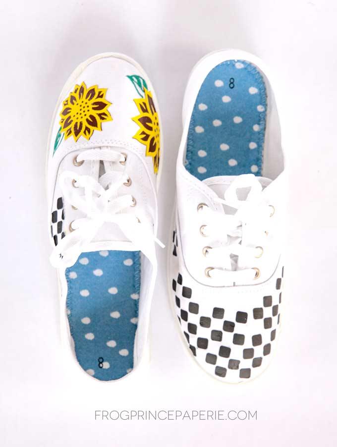 DIY VSCO Girl Shoes with the Cricut EasyPress Mini