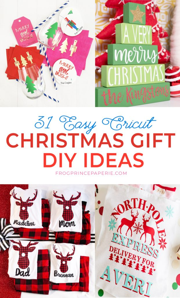 Easy personalized christmas gift ideas you can make with your Cricut