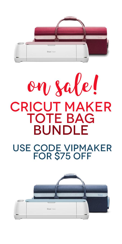 Savings Alert: Cricut Maker and Tote Bundle Deal!