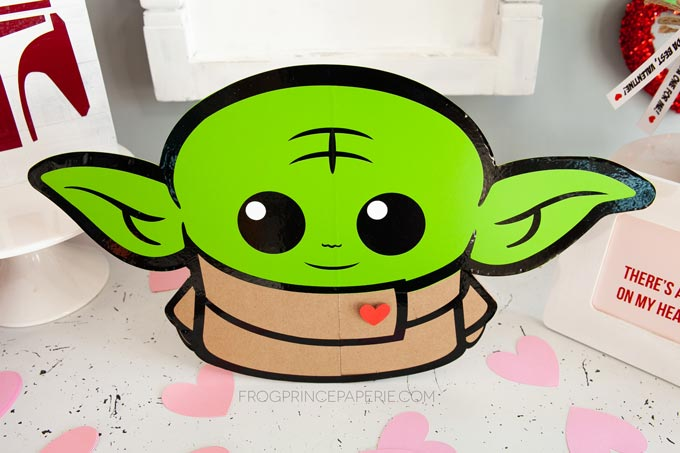 Baby Yoda can come to your Valentine's Day party!