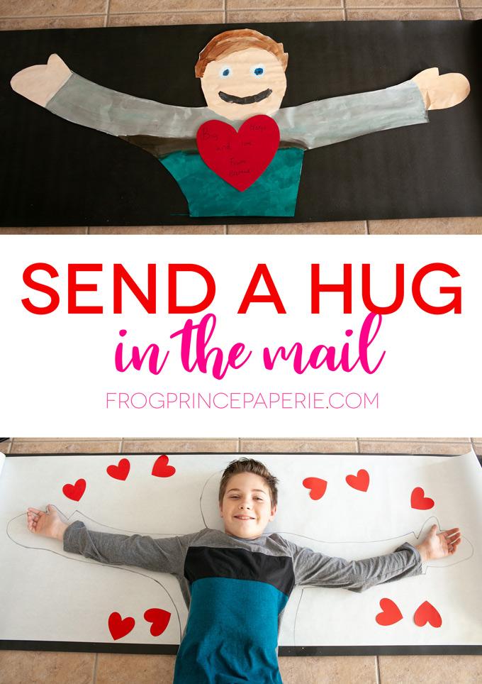 Send a Hug In the Mail DIY
