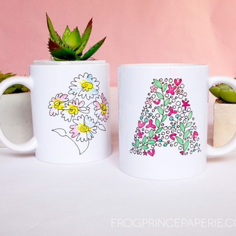 How to Use Infusible Ink Pens with the Cricut Mug Press