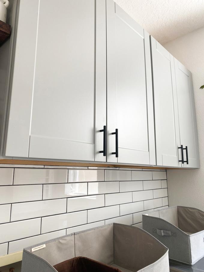 Laundry room decor ideas - new cabinets