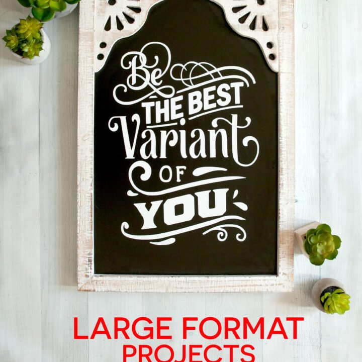 Be the Best Variant of You Sign
