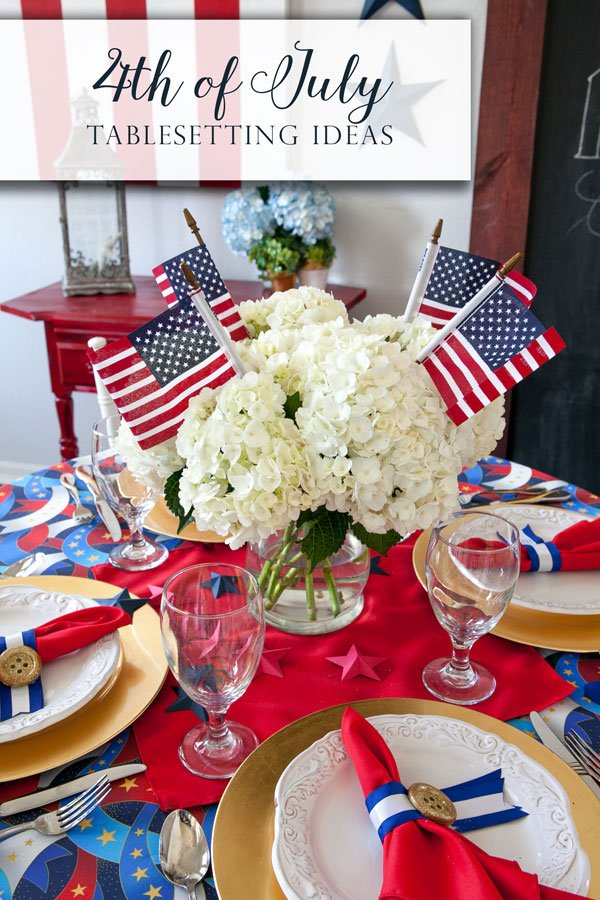 4th Of July Centerpiece Ideas