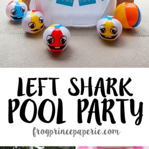 Left Shark Pool Party Ideas on a Budget