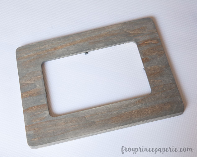 aged wood frame fishing father s day gift 4 frog prince paperie