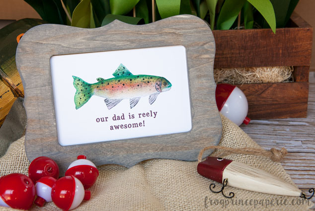 how to age unfinished wood for a father s day gift fishing frame
