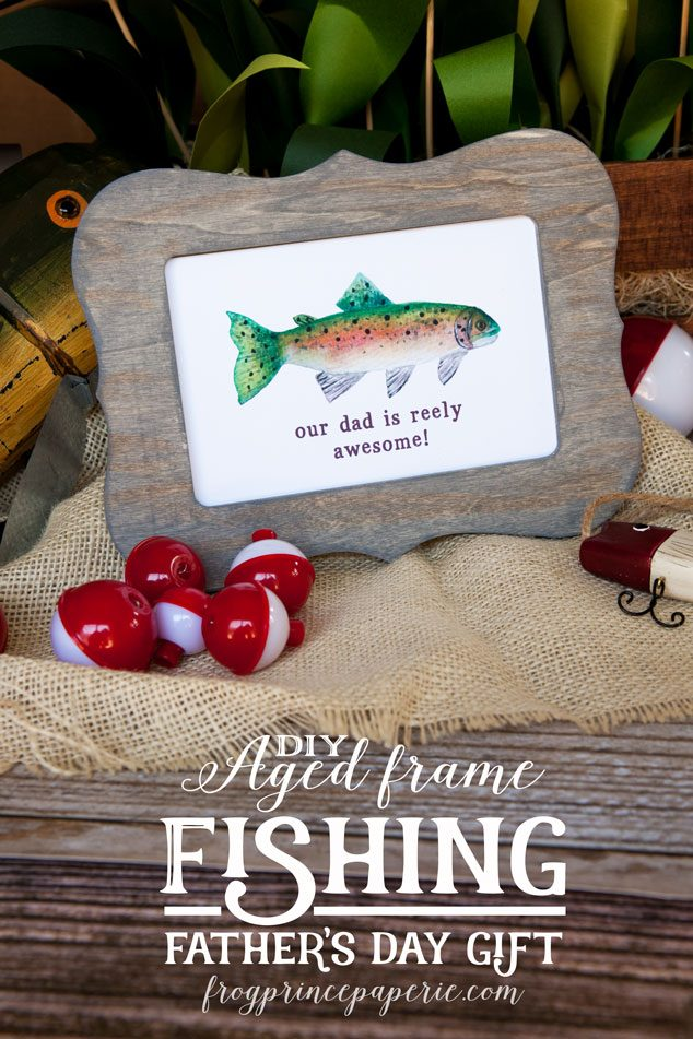 Aged-Wood-Frame-Fishing-Father's-Day-Gift