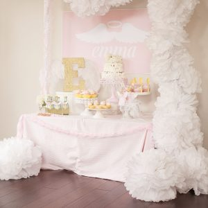 Little Angel First Birthday Party