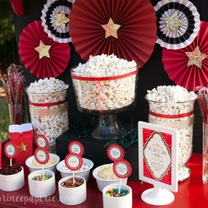 Backyard Movie Party Ideas