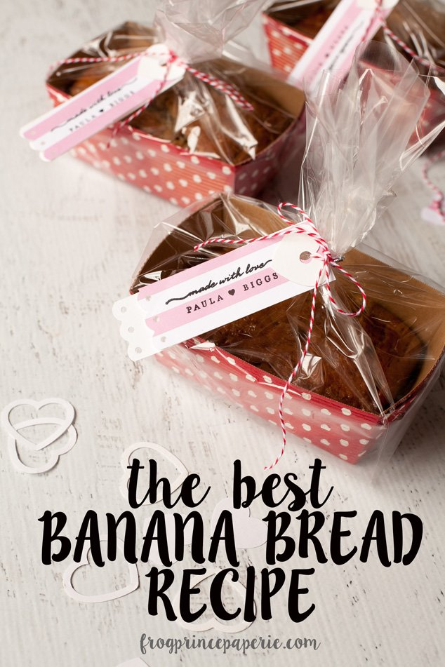 The best banana bread recipe--ever!