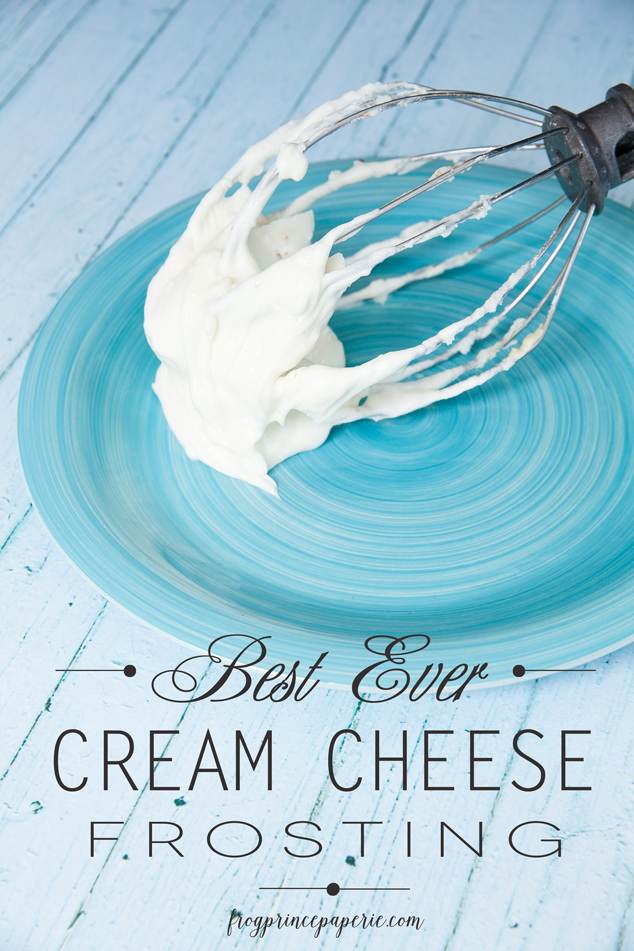 Quick and easy best ever cream cheese frosting recipe