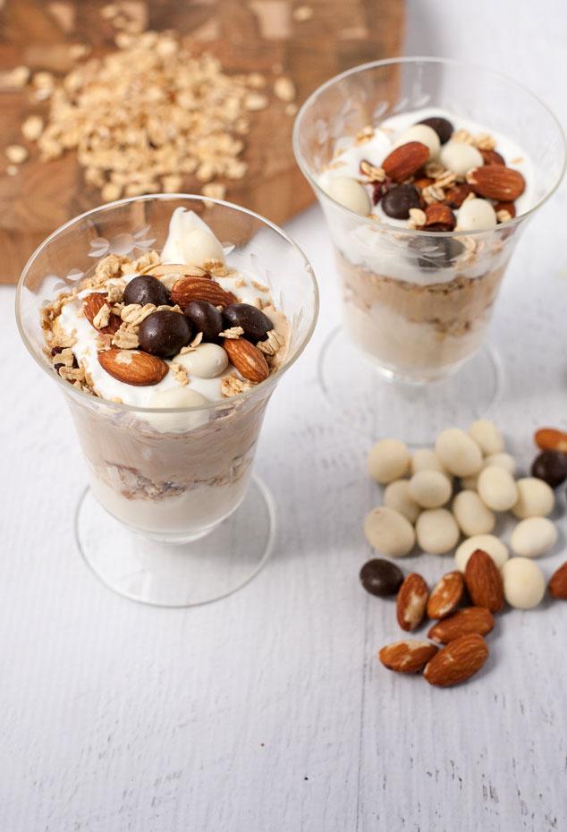 Liberte yogurt recipe for Caramel Macchiato Yogurt Parfaits