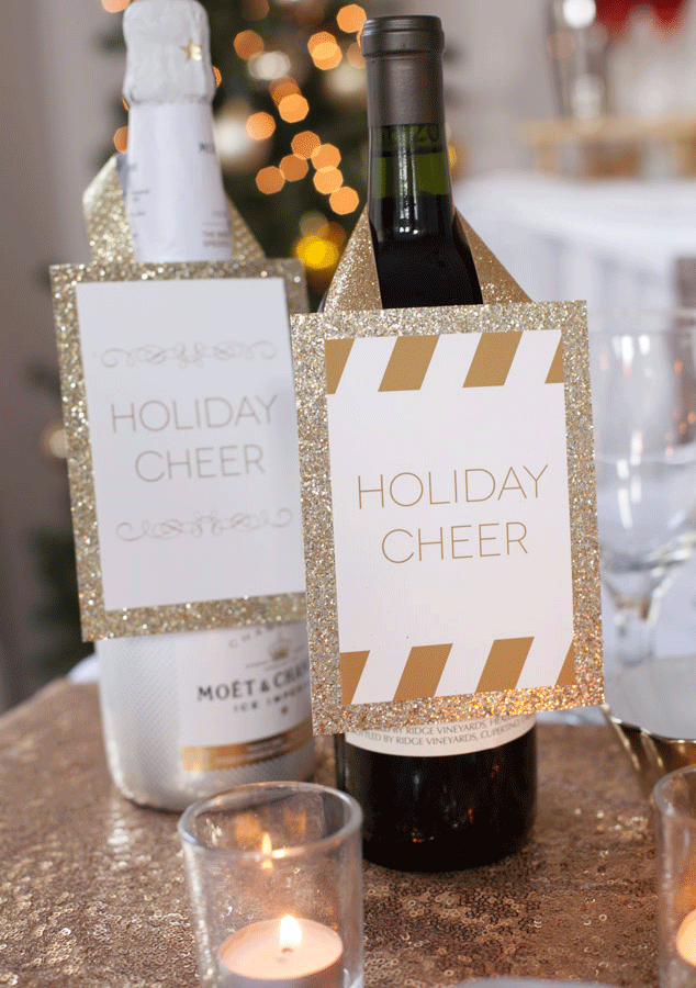 Holiday Christmas dinner party inspiration