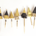 Glam Christmas Cupcake Toppers : A Season to Sparkle
