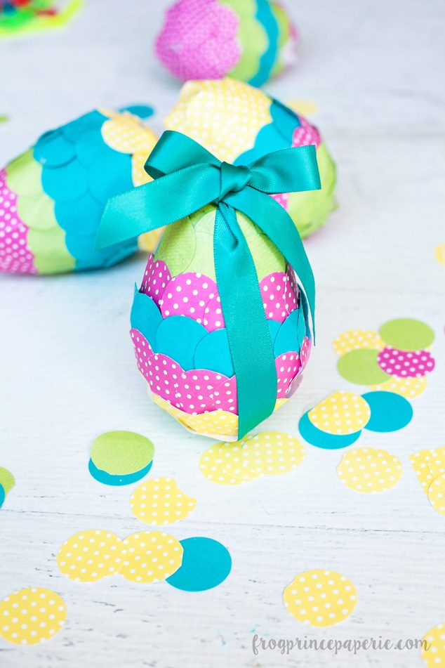 Have family craft time making paper mache Easter eggs this spring! Paper and glue was never so much fun.