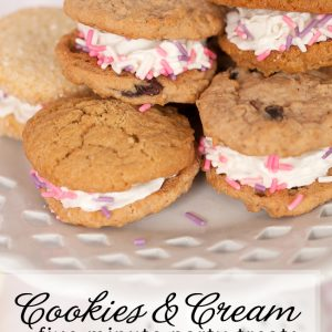Cookies and Cream Five Minute Dessert #PartyReddi