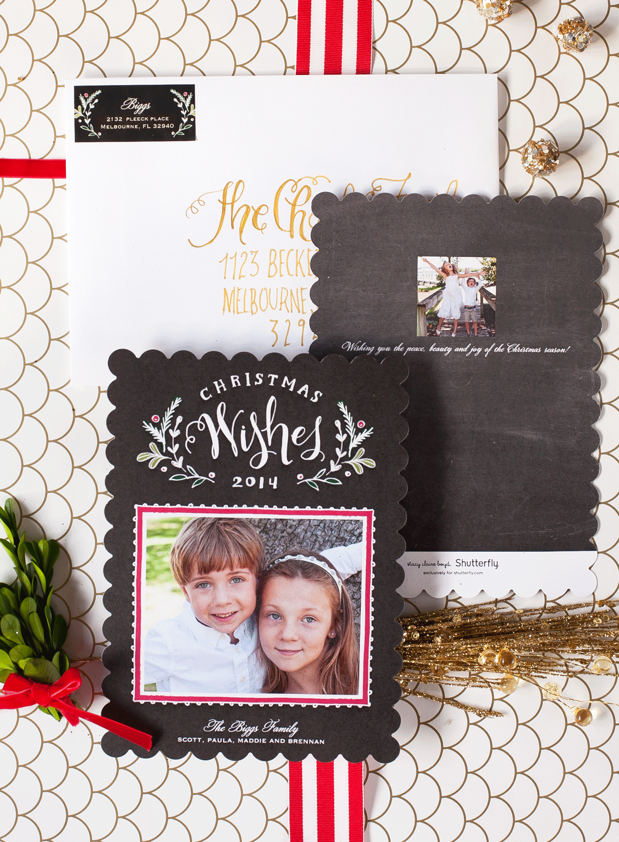 Creative Christmas Card Photo Tips - Frog Prince Paperie