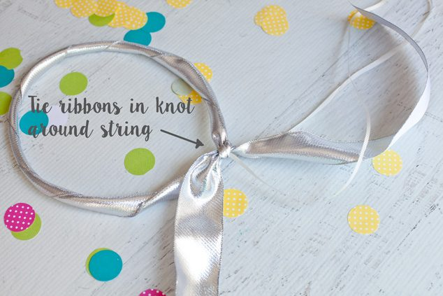 This quick kid craft to make a DIY fairy headband will keep the kids entertained for hours!