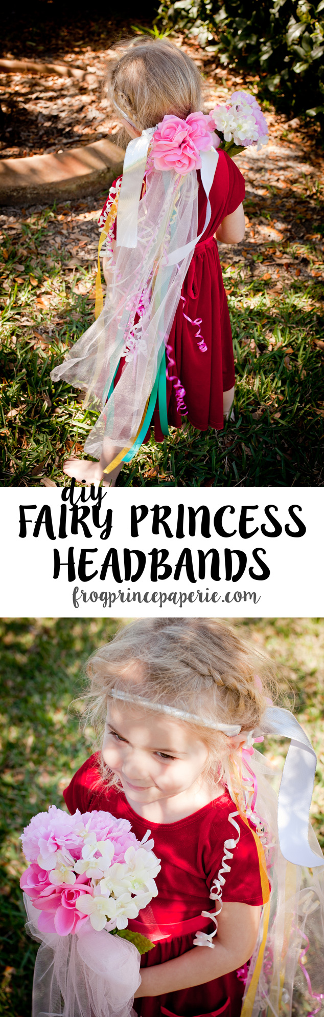 This quick kid craft to make a DIY fairy headband will keep the kids entertained for hours--both making the headband and playing pretend after!