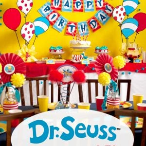 Dr. Seuss Birthday Party