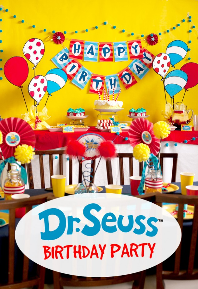 Dr SeUss Birthday Party-17