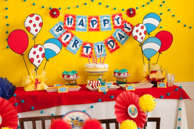 Dr Suess Birthday Party-16