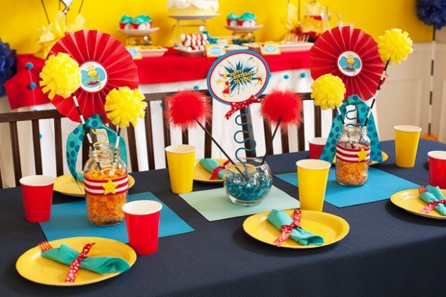 Dr Suess Birthday Party-33
