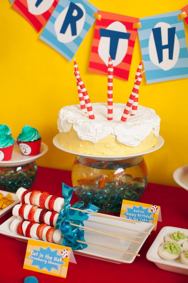 Dr Suess Birthday Party-7