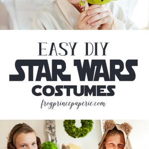 Easy DIY Star Wars Costumes
