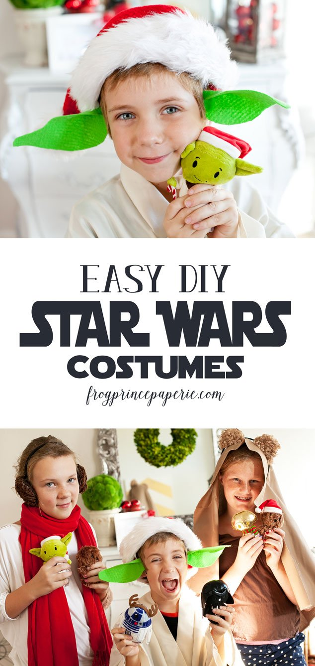 Easy Diy Star Wars Costumes Frog Prince Paperie