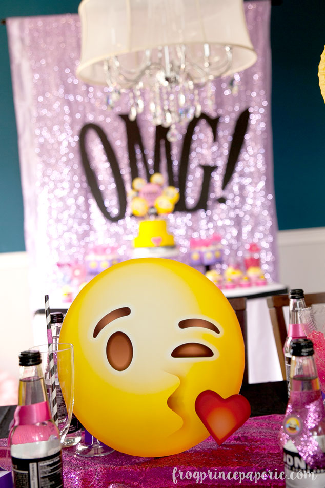 Emoji Party Ideas Kissy