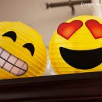 Emoji Party Lanterns Tutorial and Free Printables