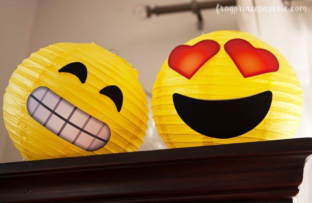 Emoji-party-lanterns