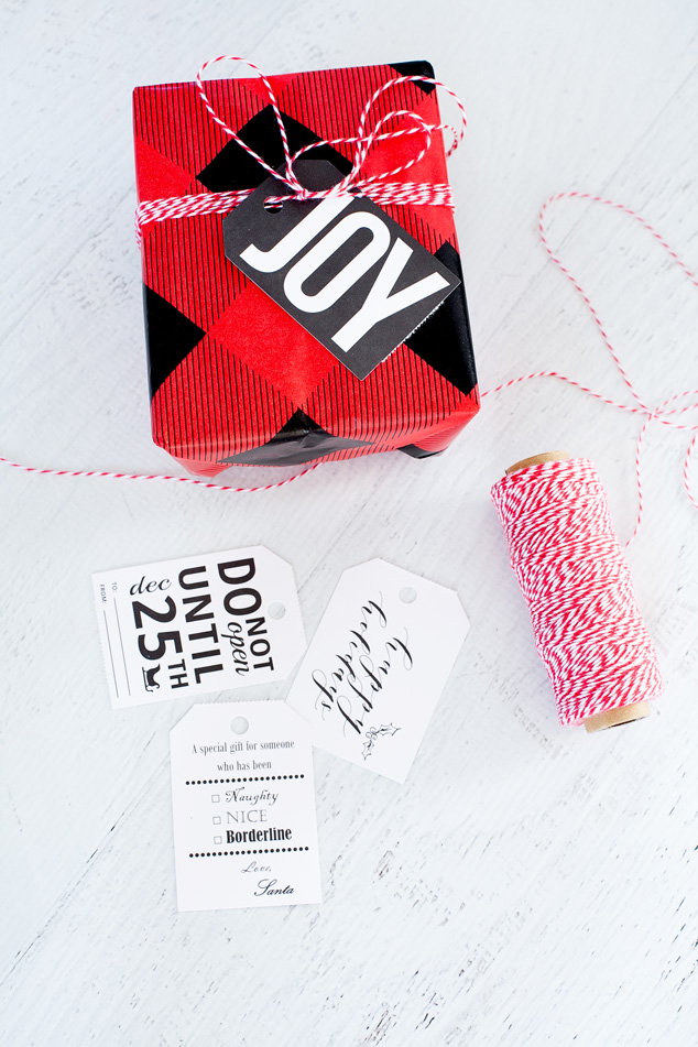 Easy Christmas Gift Wrap Ideas #gapxdarbysmart