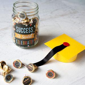 Sweet and Speedy DIY Graduation Gift