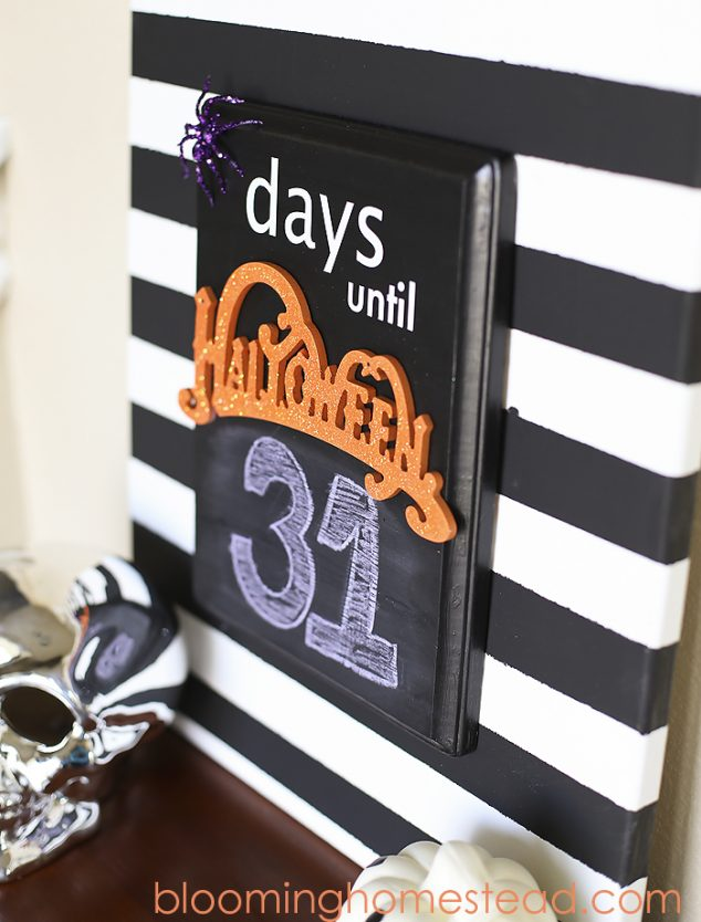 Halloween Countdown Linky by Frog Prince Paperie