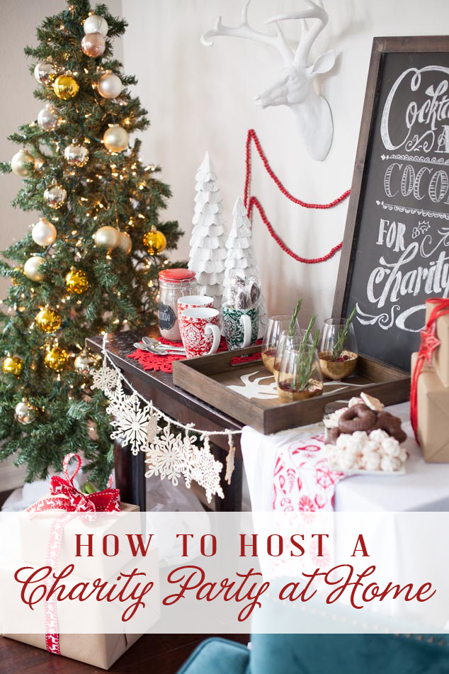 How to host a charity party at home frog prince paperie for Hosting a party at home