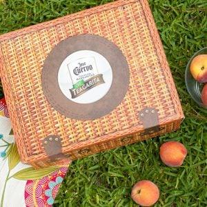 Peach Teagaritas and Mango Peach Salsa Porch Sittin'