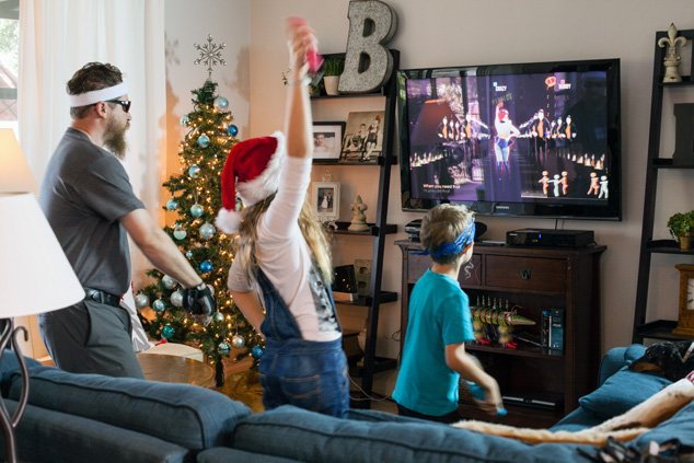 Make a dance party part of your holiday tradition!