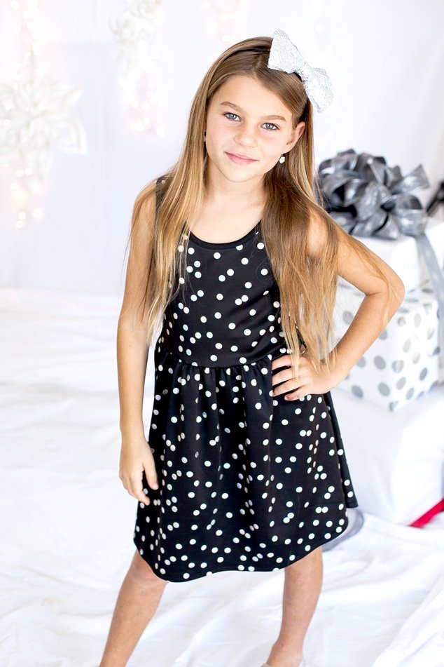 Model our justice holiday dress purchases all the tween party dresses