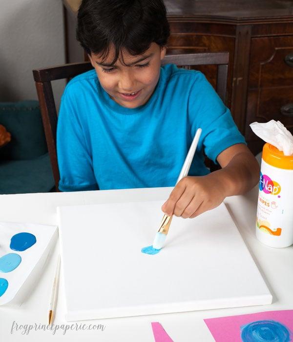Kid-Canvas-Paint-Project-3