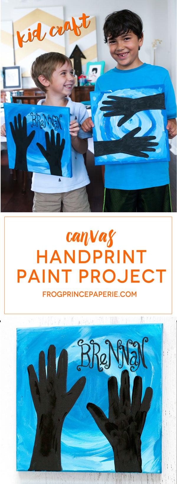 Kid-Canvas-Paint-Project