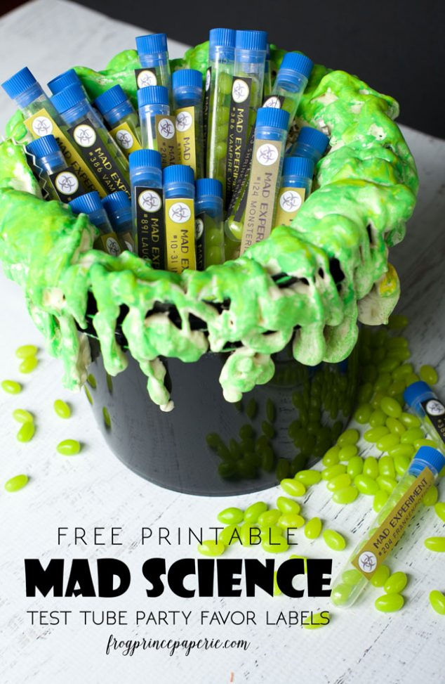 Mad Science Halloween Free Printables - Frog Prince Paperie-9787