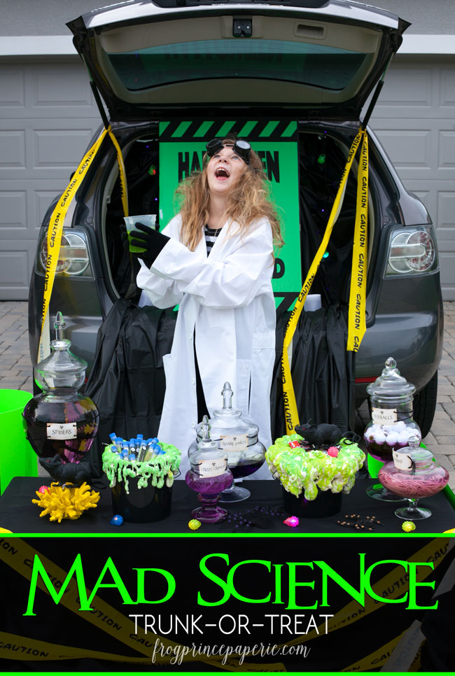 Mad Science Lab Trunk-or-Treat Ideas