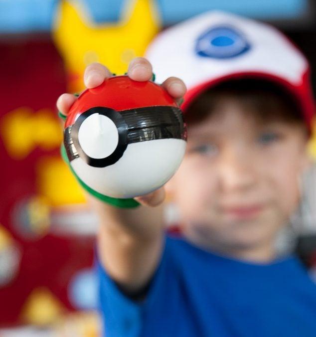 Pokemon party idea DIY Pokeball